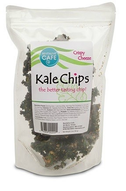 Vegan Cheezy Kale Chips - Case 12 ($7.50 each)