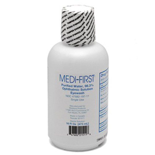 16oz. Medi-Wash Eye & Skin Irrigation Solution