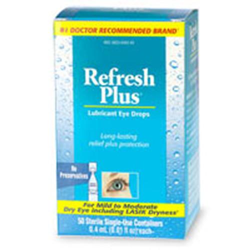 Refresh Plus Lubricant Eye Drops (30 count)