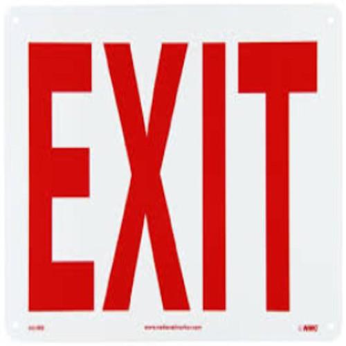 Exit Sign | Rigid Plastic, 7x10