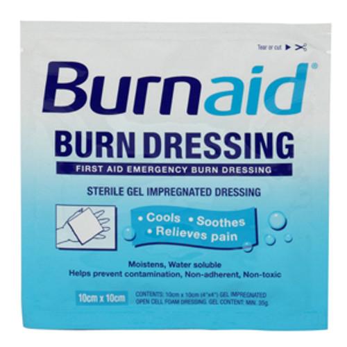"BurnAid Burn Dressing 4"" x 4"""