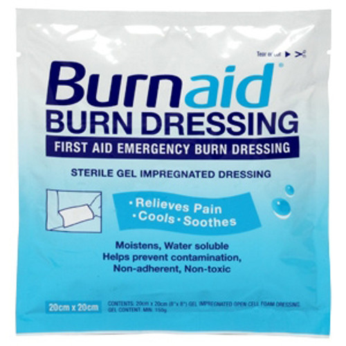 "BurnAid Burn Dressing 8"" x 8"""