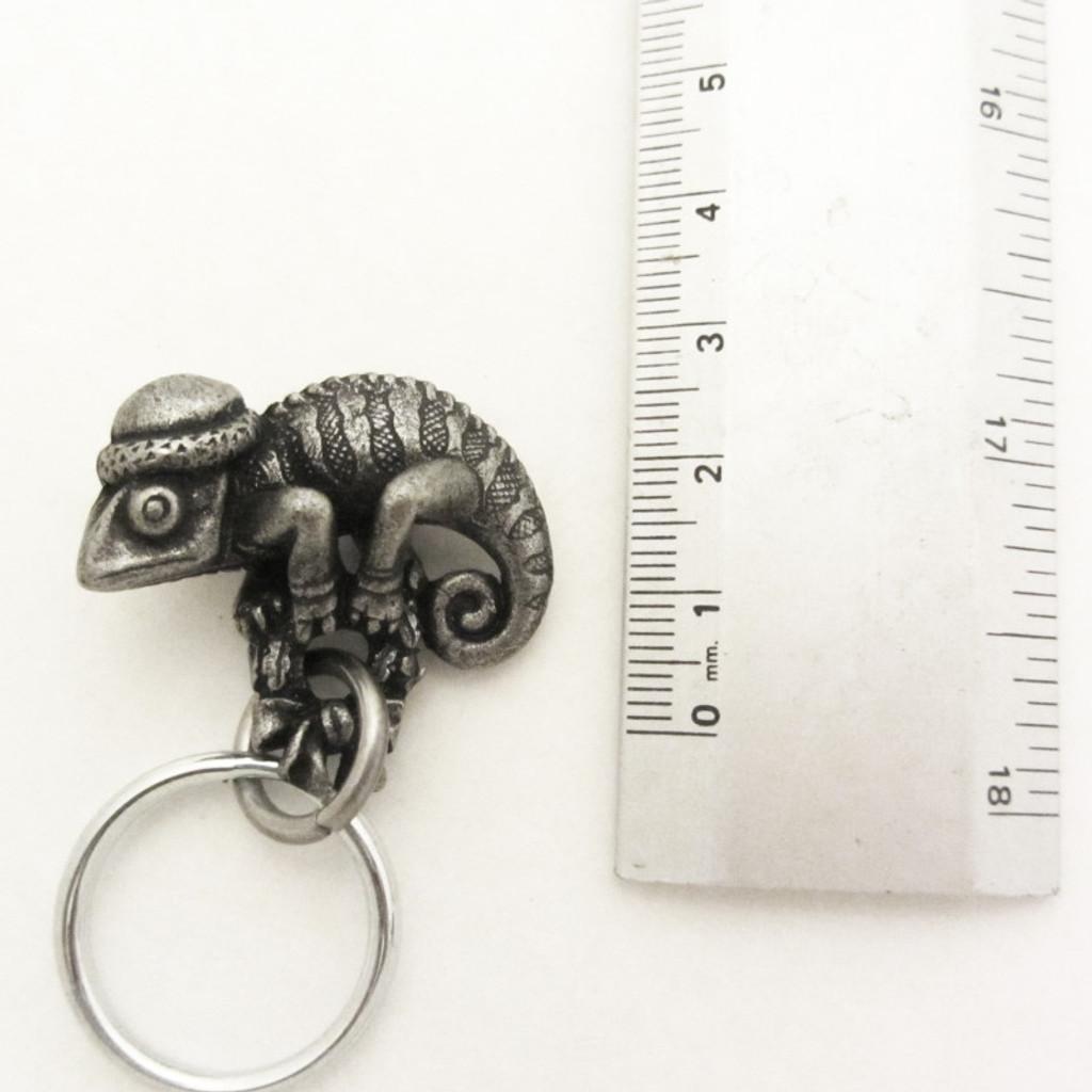 Holiday Chameleon Keychain
