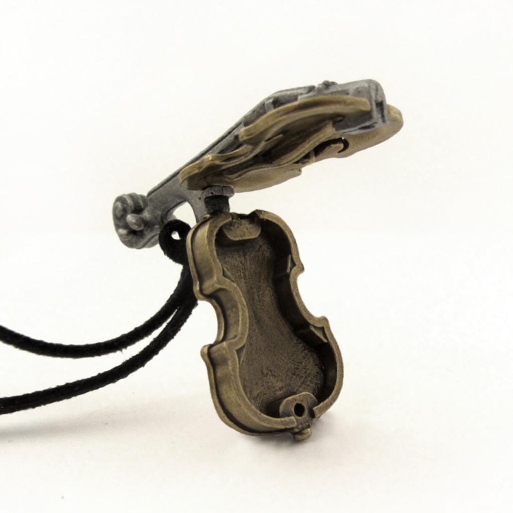 taylorcustom violin locket