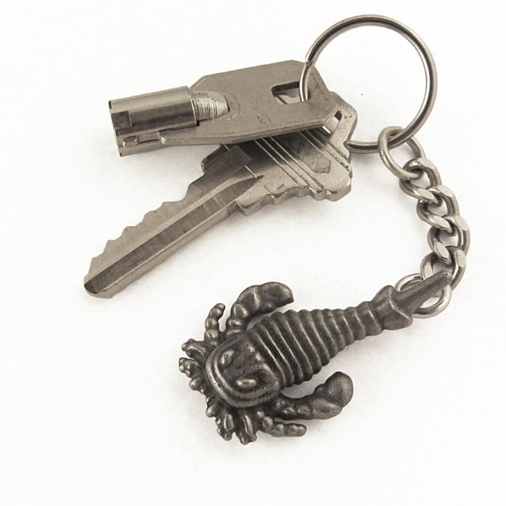 Eurypterid keychain