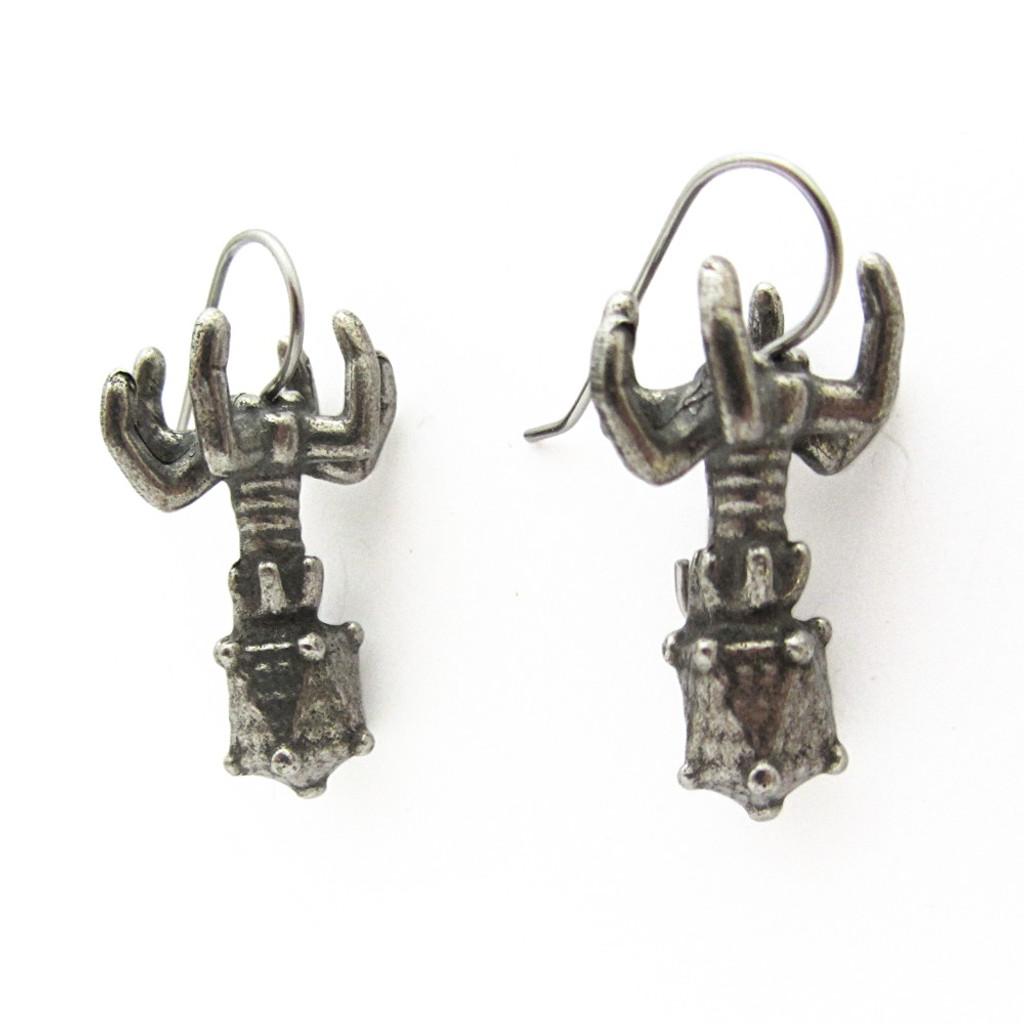 bacteriophage earrings