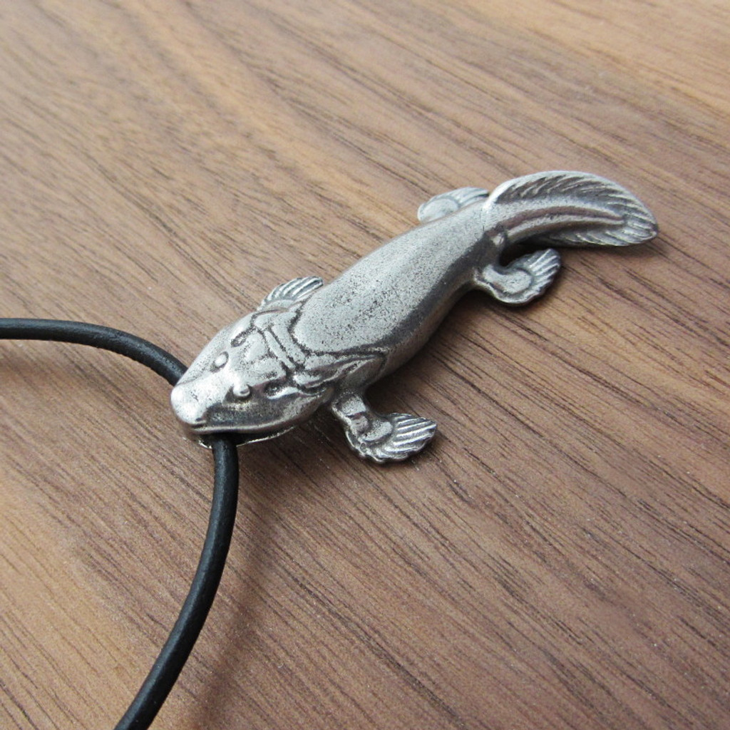 Tiktaalik necklace