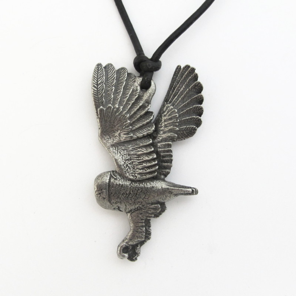 Barn Owl Necklace