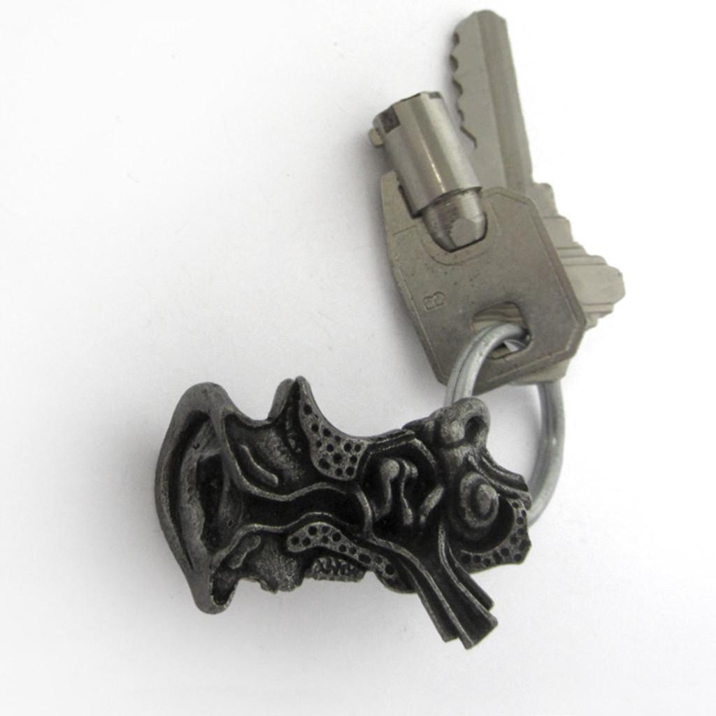 ear anatomy keychain