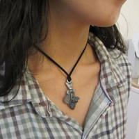 fish anatomy necklace