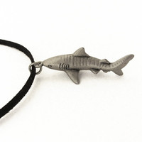 tiger shark necklace