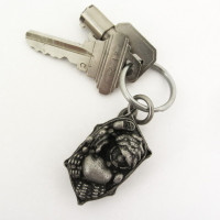 plant cell keychain