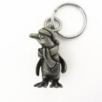 Holiday Penguin Keychain