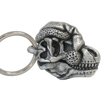 Holiday Tyrannosaurus Keychain