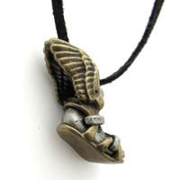 winged sandal talaria necklace