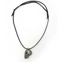 Human Skull Anatomy Locket Necklace
