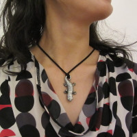 salamander necklace
