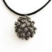 Virus Pendant with only outer envelope visible