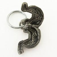 Human Stomach Locket Keychain