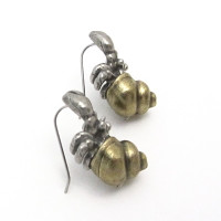 hermit crab earrings