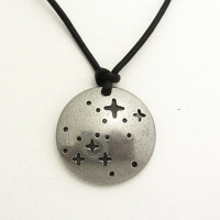 constellation Canis Major necklace