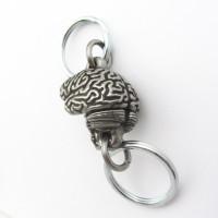 Human Brain Valet Keychain