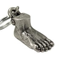 Anatomical Foot Keychain