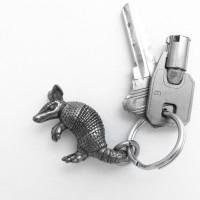 armadillo keychain