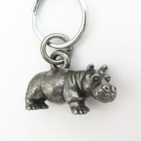 hippopotamus keychain
