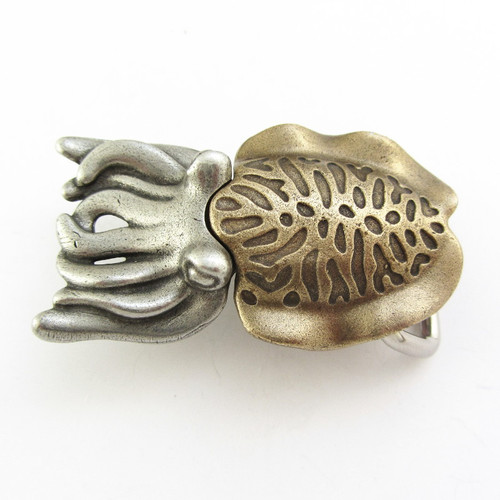 cuttlefish belt buckle
