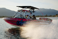 Assault Wakeboard Tower - Polished Aluminum