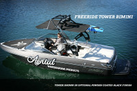 FreeRide Wakeboard Tower - Powder Coated Black