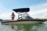 Airborne 2.0 Wakeboard Tower - Powder Coated Black
