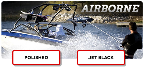 Our best selling wakeboard tower for boats