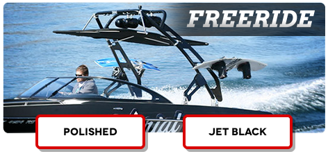 Our best wakeboard tower is an aftermarket upgrade for boats
