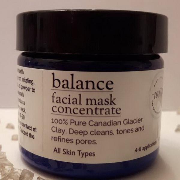 balance....facial mask concentrate