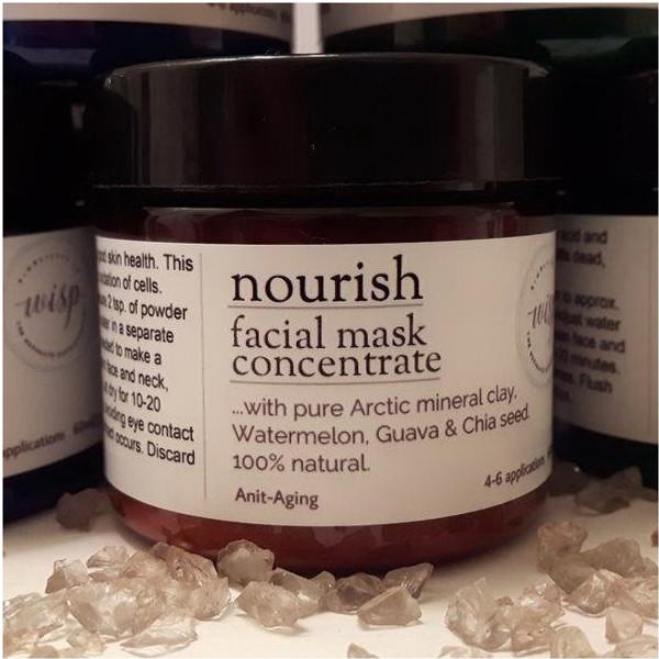 nourish...facial mask concentrate