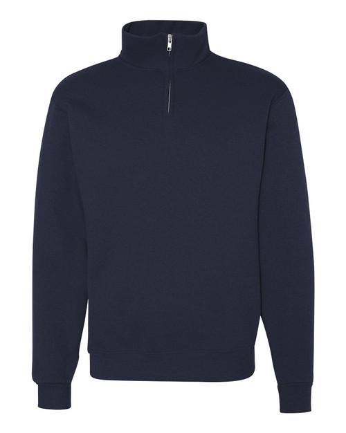 Back Snap Fleece Top with Zip-Up Collar -Assorted Colors