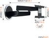 Vogel's DesignMount (NEXT 7346) Full-Motion LG OLED TV Wall Mount