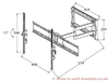 Vogel's PFD 8543 Monitor Desk Mount