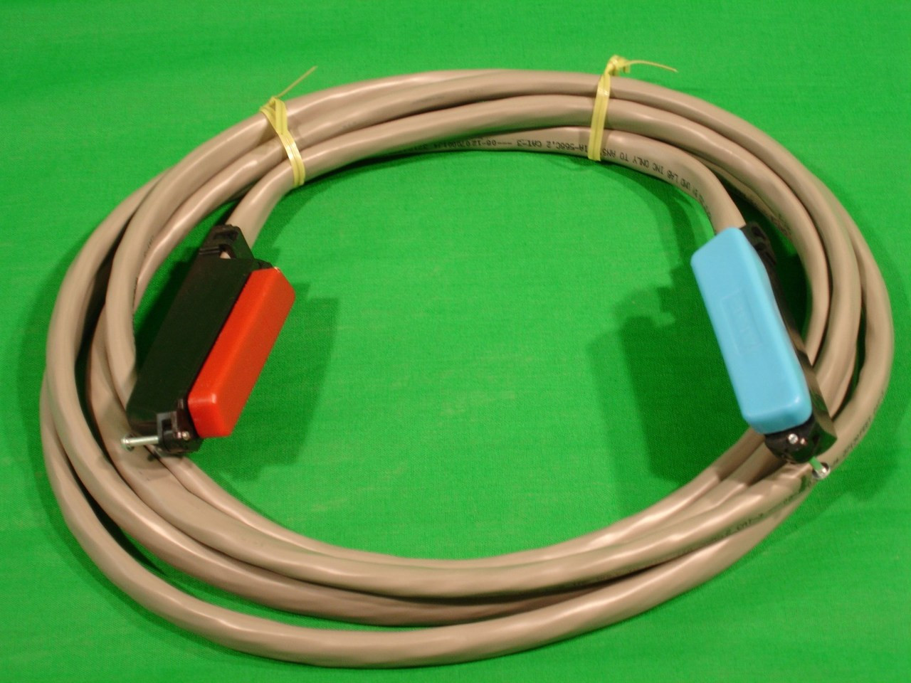 Telco Amphenol 25 Pair 50 Pin Patch Cord Male To Female Wiring Using One Of Powerline Adapters Pointtopoint