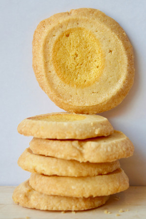 BKLYN Larder Lemon Shortbread Cookies