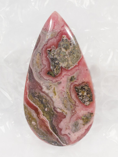 Exquisite Rhodochrosite Cabochon