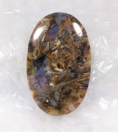 Outstanding, Extra-Large, Pseudomorph Agate Cabochon