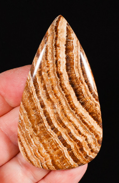 Extra-Large Honey Aragonite Cabochon