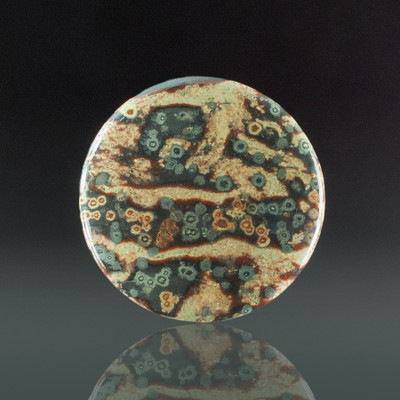 New Monevea Rhyolite Cabochon, 39x4mm, 44 cts