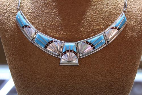 Multi-color necklace SS85967