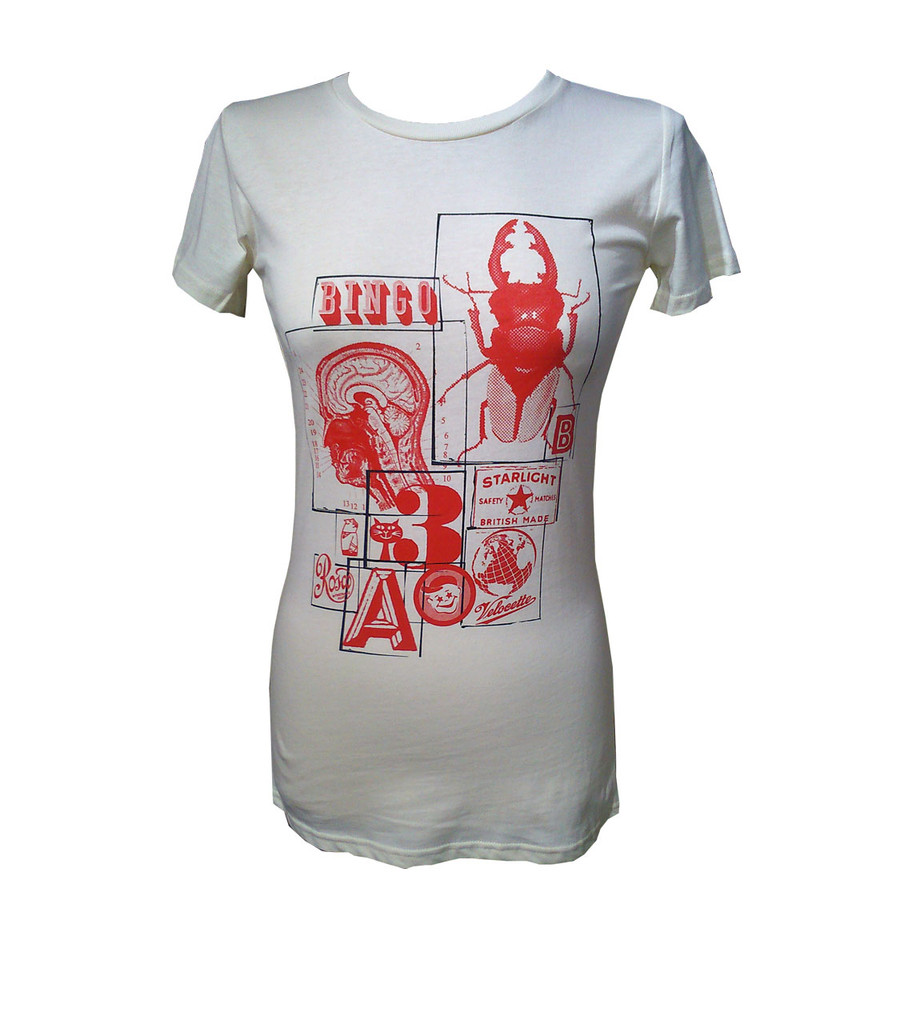 Bits & Bobs collage womens T shirt