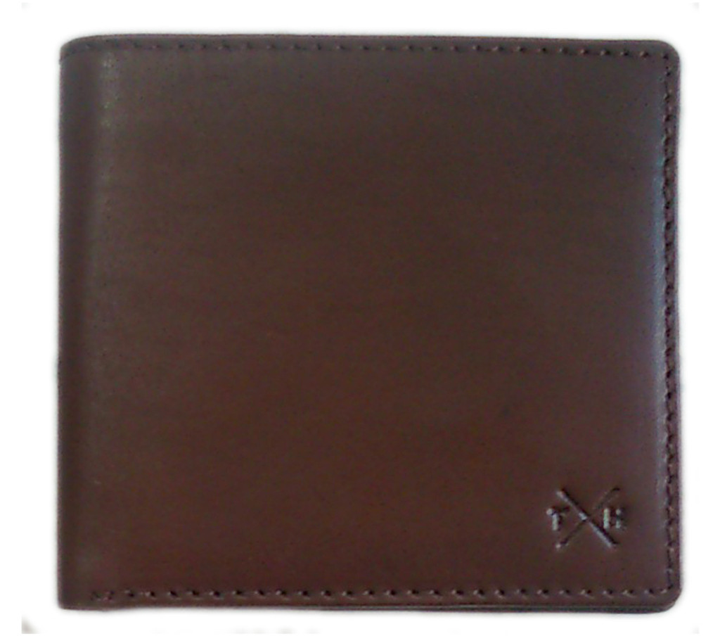 tumble and hide leather wallet