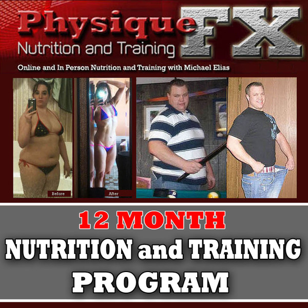 12 Month Online Nutrition and Training Program
